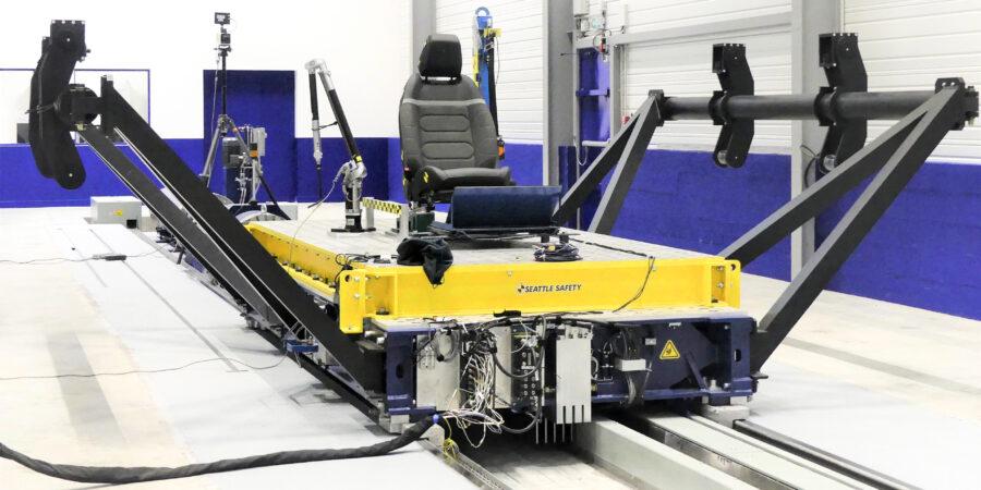 Euro NCAP Servo Sled safety testing
