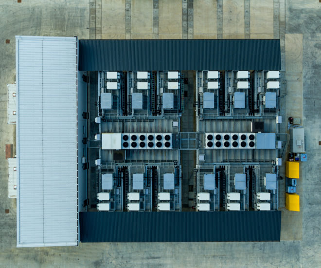 EV battery testing facility at Millbrook Proving Ground in the UK