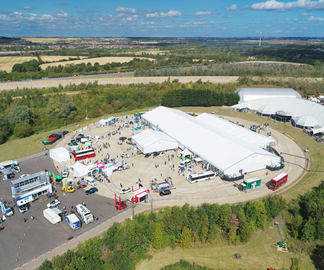 B2B corporate event venue at Millbrook Proving Ground in the UK