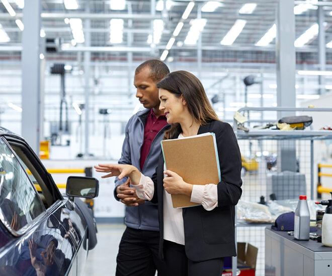 Vehicle certification for UNECE regulations at UTAC