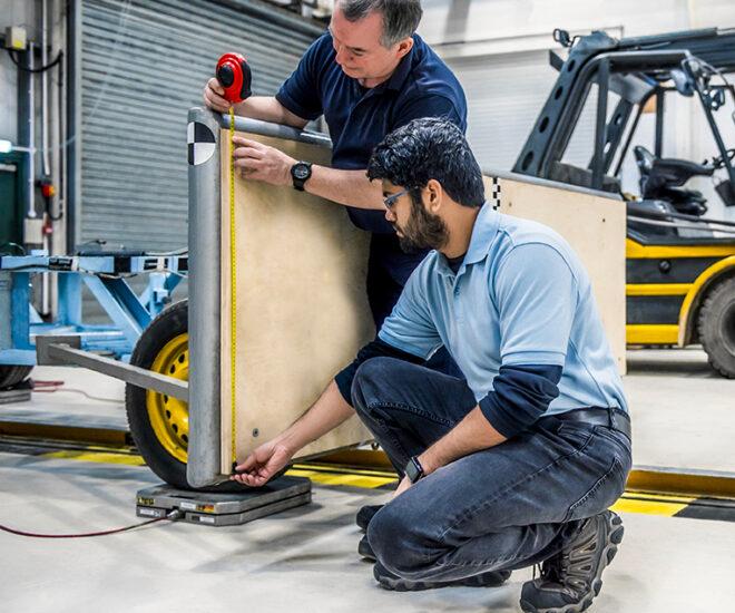 Vehicle homologation testing at UTAC formerly Millbrook