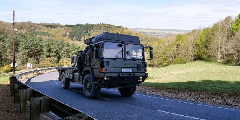 TD6 Military Programme at UTAC's UK Proving Ground 1