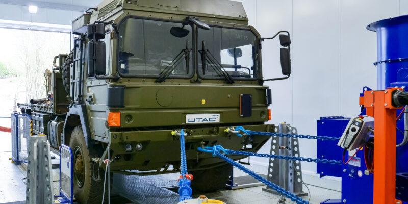 TD6 Military Programme at UTAC's UK Proving Ground 3